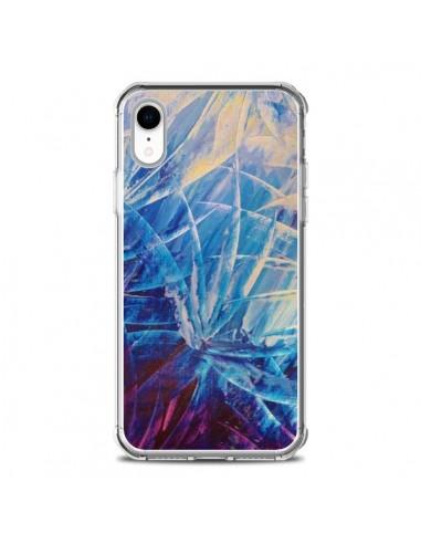 Coque iPhone XR Fleurs Violettes...