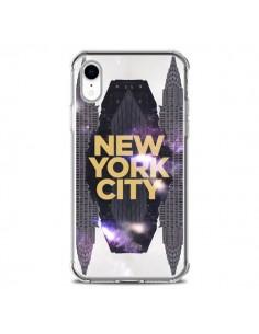 Coque iPhone XR New York City Orange - Javier Martinez