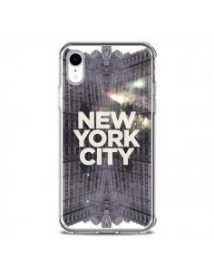Coque iPhone XR New York City Gris - Javier Martinez