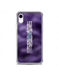 Coque iPhone XR Sunshine Violet - Javier Martinez