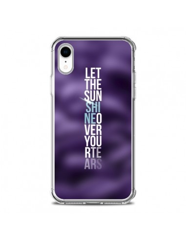 Coque iPhone XR Sunshine Violet -...