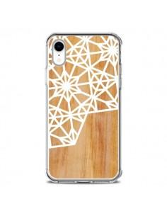 Coque iPhone XR Frozen Stars Etoile Bois Azteque Aztec Tribal - Jenny Mhairi