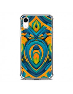 Coque iPhone XR Cross Heart Azteque Coeur - Eleaxart