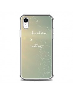 Coque iPhone XR Adventure is waiting Coeurs - R Delean