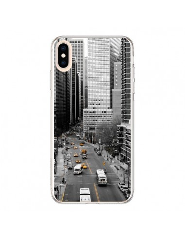 Coque iPhone XS Max New York Noir et Blanc - Anaëlle François