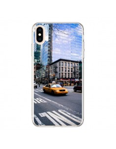Coque iPhone XS Max New York Taxi - Anaëlle François