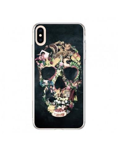 Coque iPhone XS Max Skull Vintage Tête de Mort - Ali Gulec
