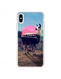 Coque iPhone XS Max Llama - Ali Gulec