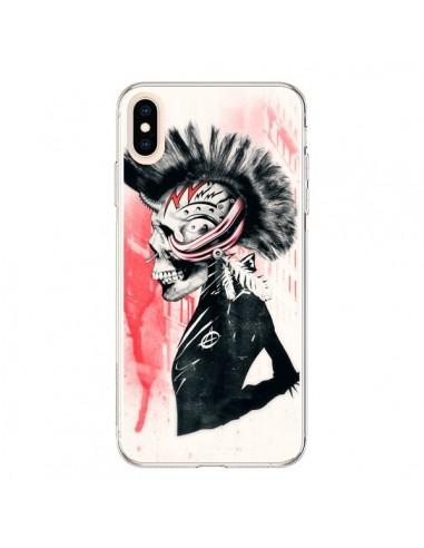 Coque iPhone XS Max Punk - Ali Gulec