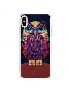 Coque iPhone XS Max Chouette Owl - Ali Gulec