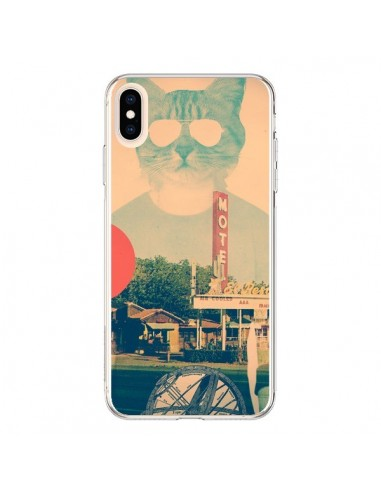 Coque iPhone XS Max Chat Fashion The Cat - Ali Gulec