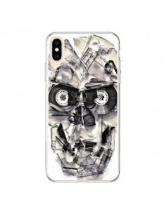 Coque iPhone XS Max Tape Skull K7 Tête de Mort - Ali Gulec