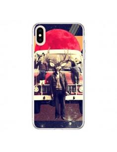 Coque iPhone XS Max Cerf Le Camion - Ali Gulec