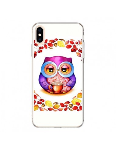 Coque iPhone XS Max Chouette Automne - Annya Kai
