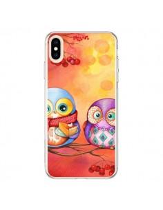 Coque iPhone XS Max Chouette Arbre - Annya Kai
