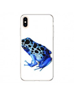 Coque iPhone XS Max Grenouille Bleue - Annya Kai