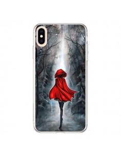 Coque iPhone XS Max Le Petit Chaperon Rouge Bois - Annya Kai