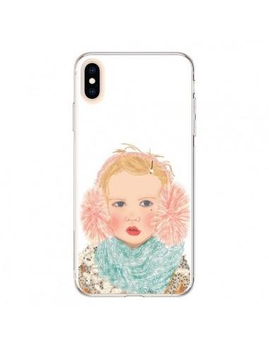 Coque iPhone XS Max Baby Bébé Mignon...