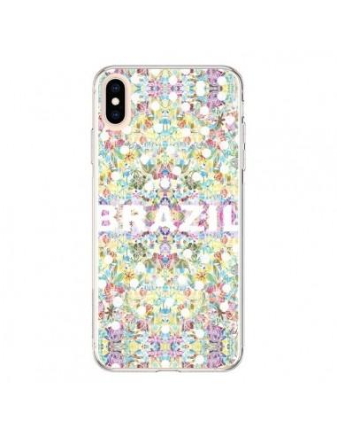 Coque iPhone XS Max Brazil Brésil Coupe du Monde - AlekSia