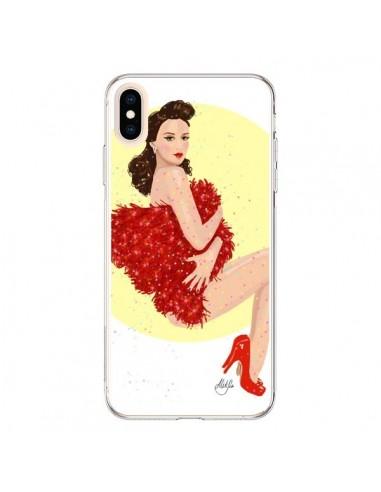 Coque iPhone XS Max Burlesque Femme Fatale - AlekSia