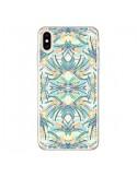 Coque iPhone XS Max Palm Floral Fleurs - AlekSia