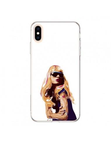 Coque iPhone XS Max Playa Femme -...