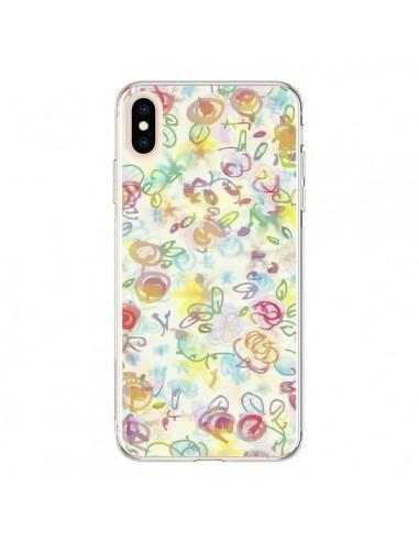 Coque iPhone XS Max Primavera Fleurs - AlekSia