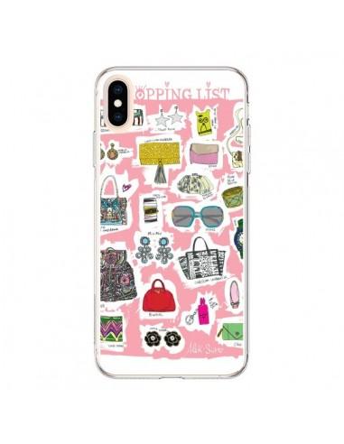 Coque iPhone XS Max Shopping List - AlekSia