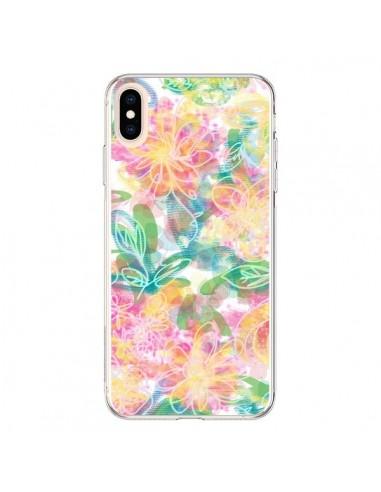 Coque iPhone XS Max Spring Fleurs - AlekSia