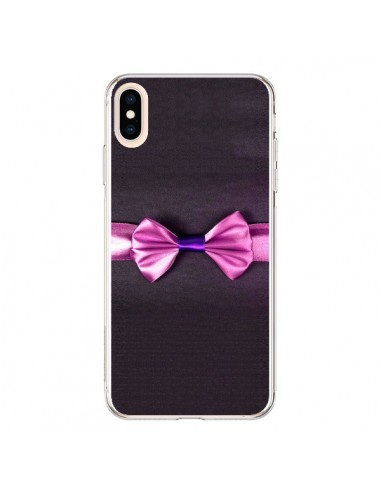 Coque iPhone XS Max Noeud Papillon...