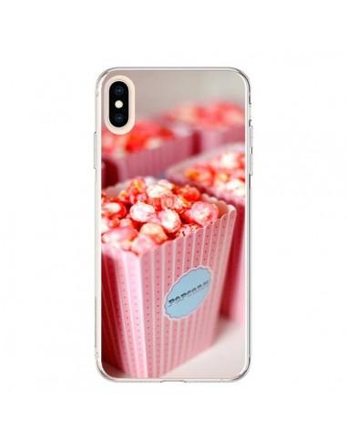 Coque iPhone XS Max Punk Popcorn Rose - Asano Yamazaki