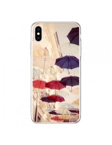Coque iPhone XS Max Parapluie Under...