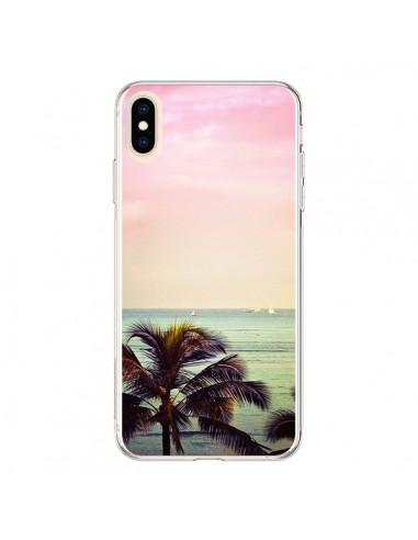 Coque iPhone XS Max Sunset Palmier Palmtree - Asano Yamazaki