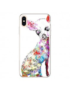 Coque iPhone XS Max Chien Chihuahua Graffiti - Bri.Buckley