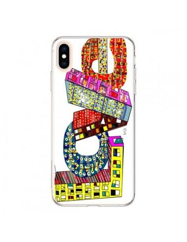 Coque iPhone XS Max Love Street - Bri.Buckley