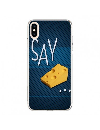 Coque iPhone XS Max Say Cheese Souris - Bertrand Carriere