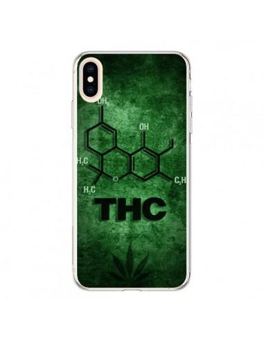 Coque iPhone XS Max THC Molécule -...