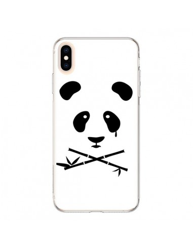 Coque iPhone XS Max Crying Panda - Bertrand Carriere
