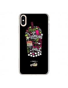 Coque iPhone XS Max Bubble Fever Original Flavour Noir - Bubble Fever