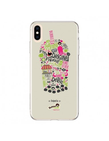 Coque iPhone XS Max Bubble Fever...