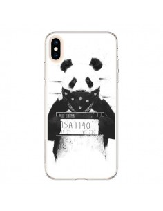 Coque iPhone XS Max Bad Panda Prison - Balazs Solti