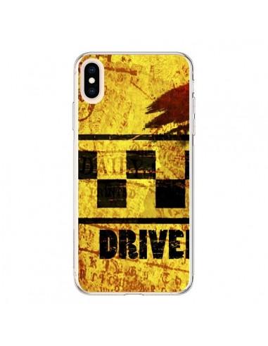 Coque iPhone XS Max Driver Taxi -...