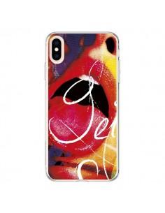 Coque iPhone XS Max Get Bouche Sexy - Brozart