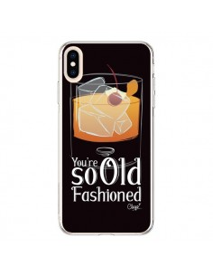 Coque iPhone XS Max You're so old fashioned Cocktail Barman - Chapo