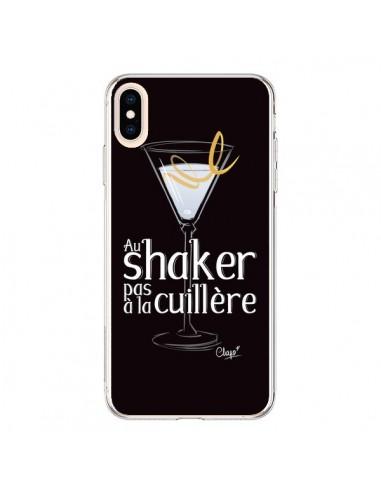Coque iPhone XS Max Au shaker pas à la cuillère Cocktail Barman - Chapo