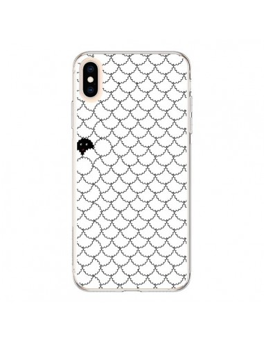 Coque iPhone XS Max Mouton Noir - Danny Ivan