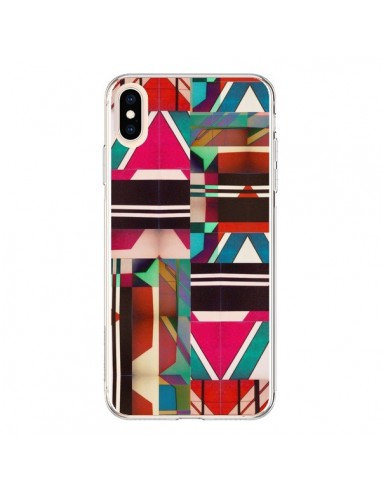 Coque iPhone XS Max Fel Azteque - Danny Ivan