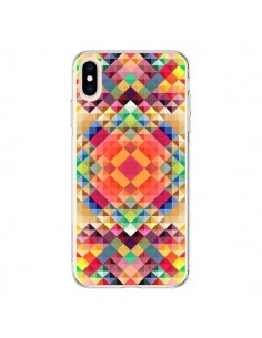 Coque iPhone XS Max Sweet Color Azteque - Danny Ivan