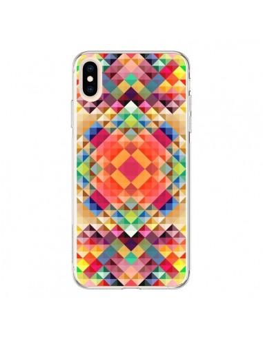 Coque iPhone XS Max Sweet Color Azteque - Danny Ivan