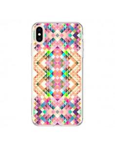 Coque iPhone XS Max Wild Colors Azteque - Danny Ivan
